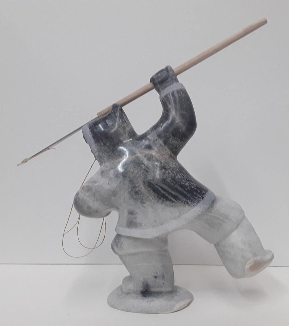 "Archie Ishulutak's ""Hunter"" Original Sculpture"