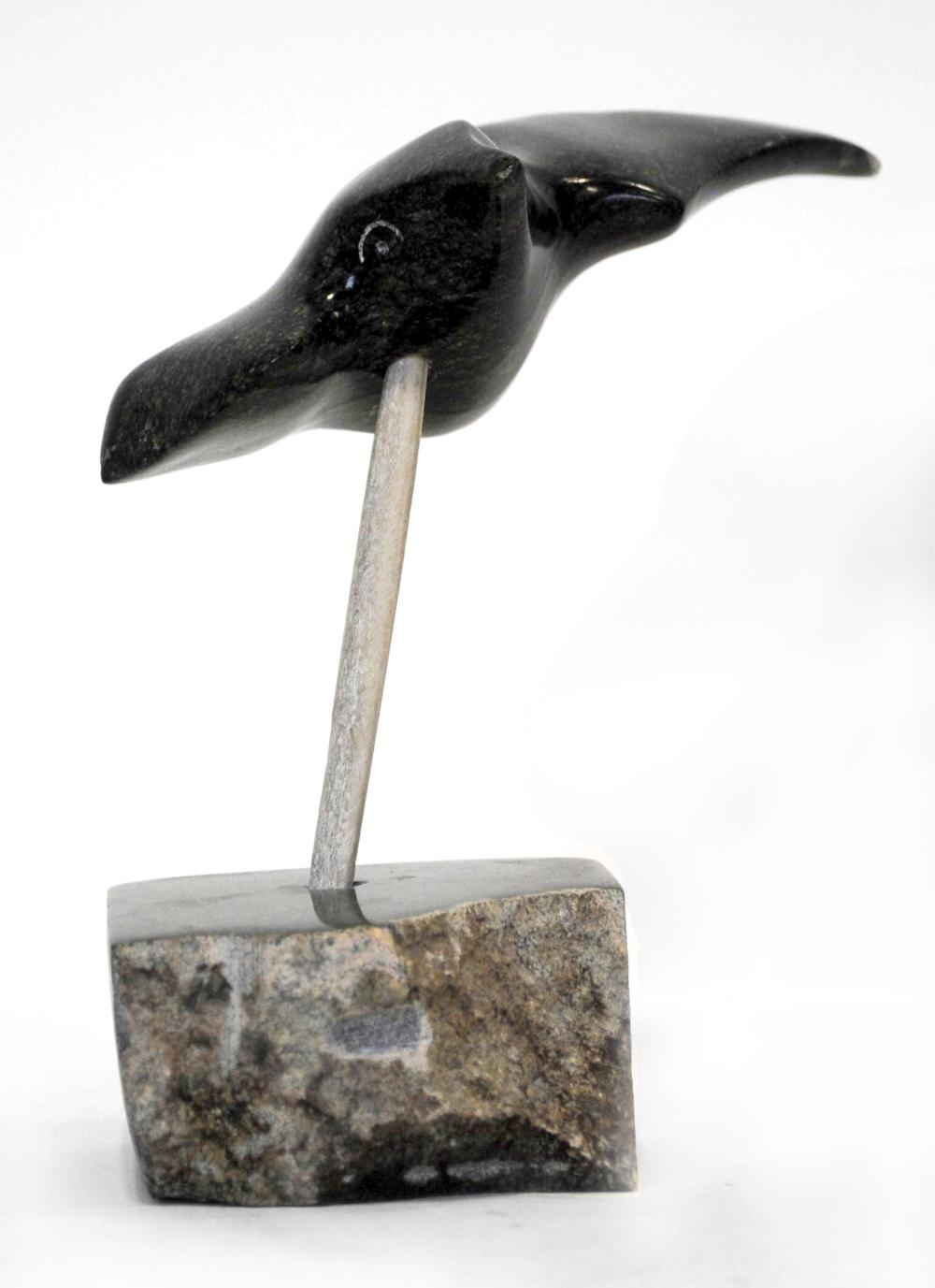 "Joe Poodlat's ""Bird Flying"" Sculpture"