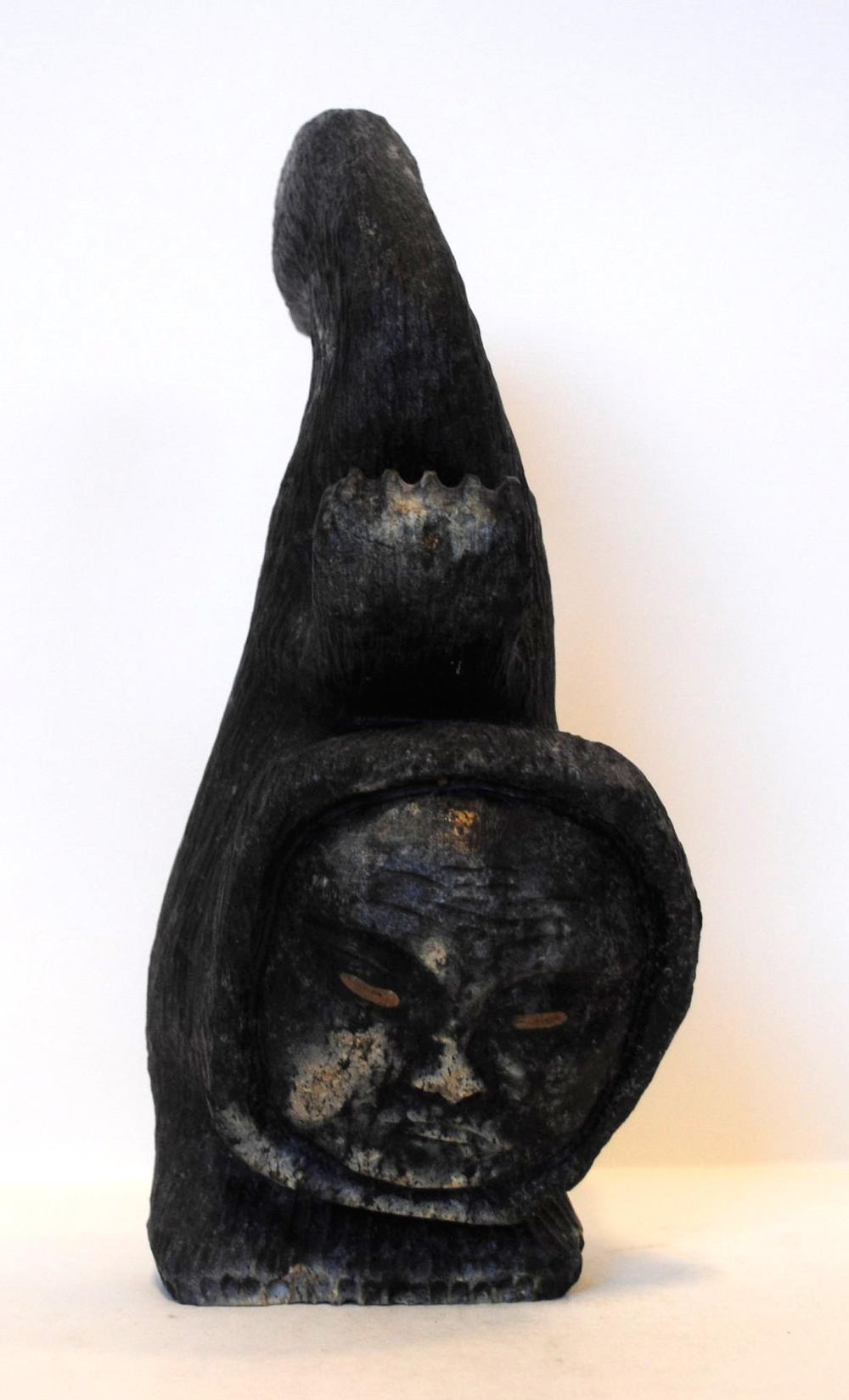 "Gideon Qauqjuaq's ""Shaman"" Sculpture"