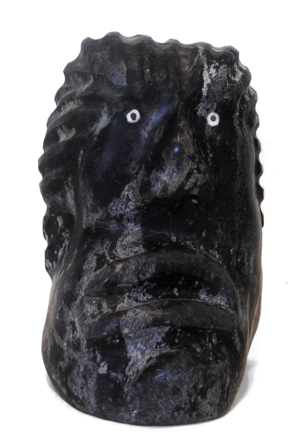 """Paul Aaluk's """"Inuk"""" Sculpture"""