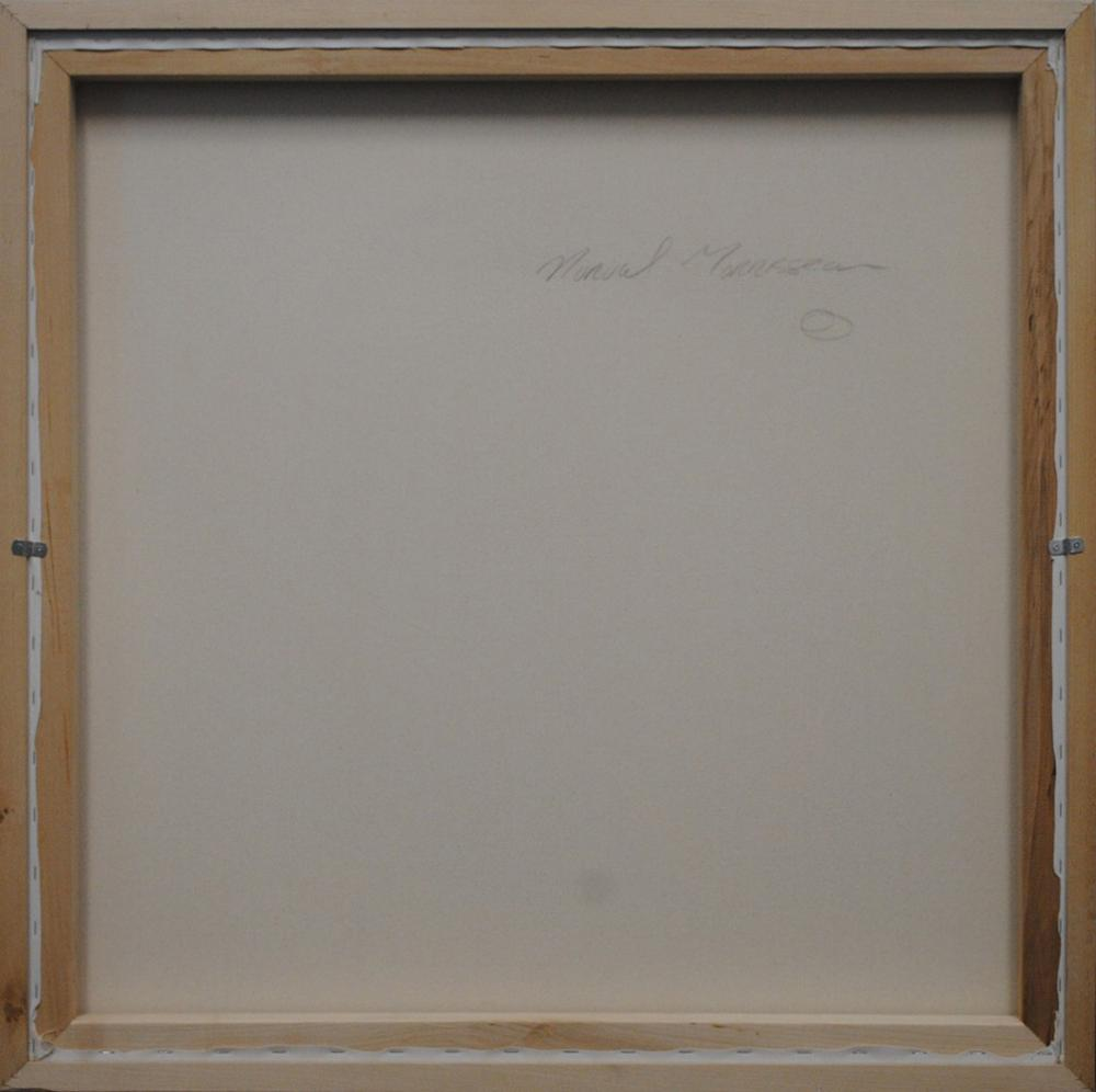 "Norval Morrisseau's ""Bear in Blue Dots"" Original"