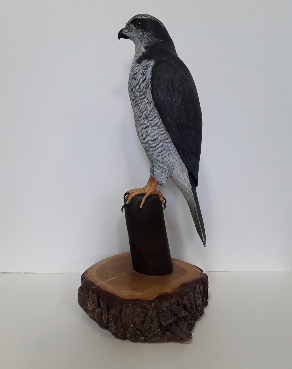 Tony Bendig's Falcon Carving