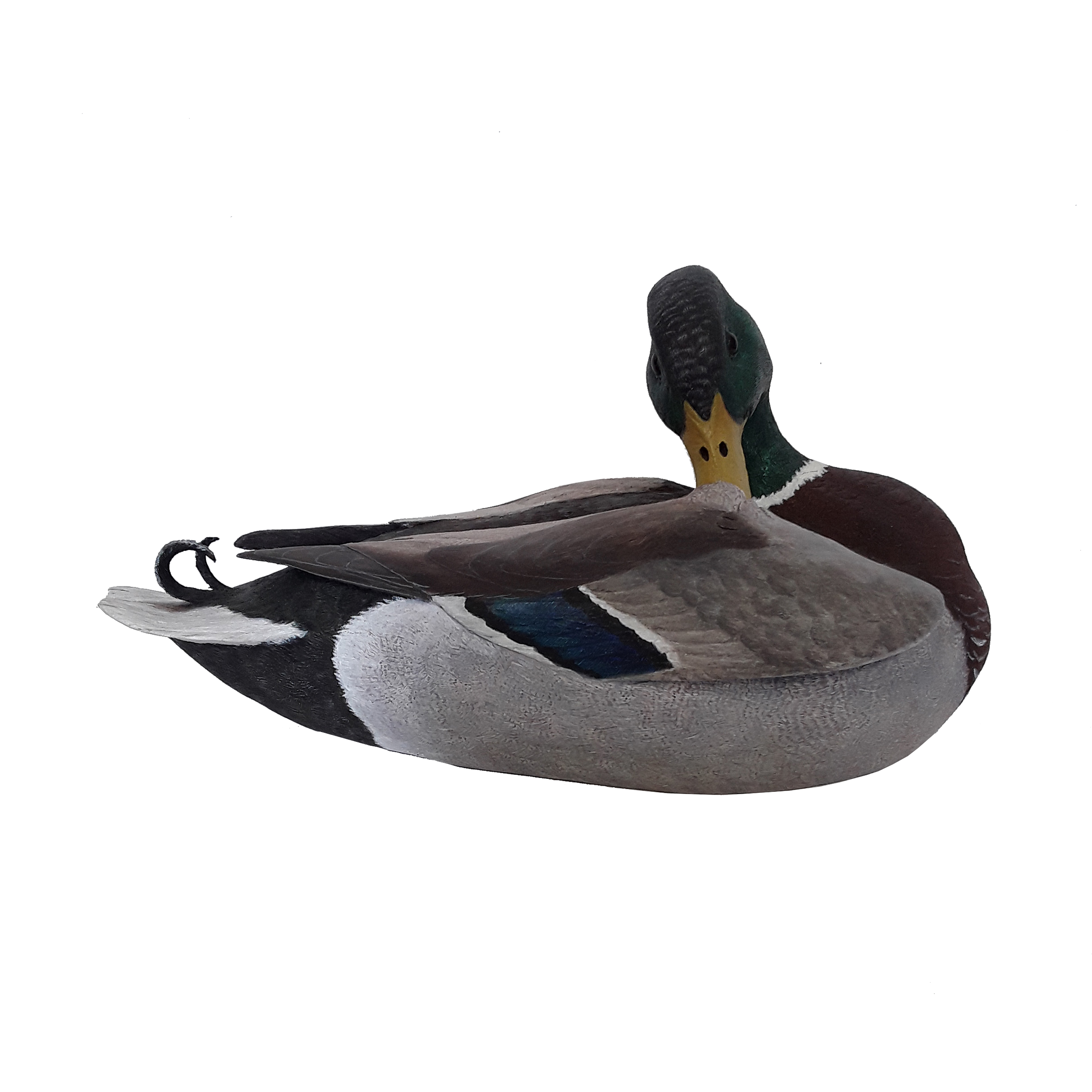 Tony Bendig's Mallard Drake Duck Carving