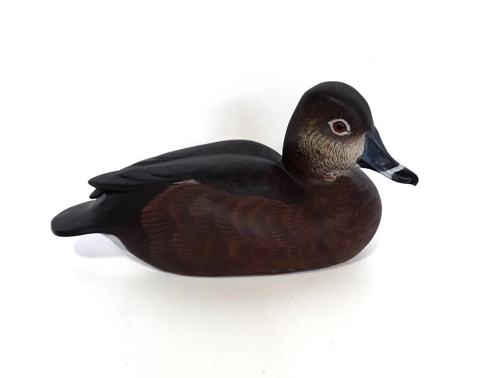 Tony Bendig's Ringneck Duck Decoy Carving