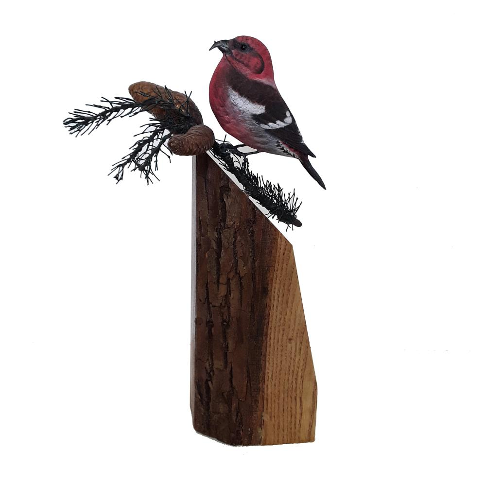 Tony Bendig's Small Finish Songbird Carving