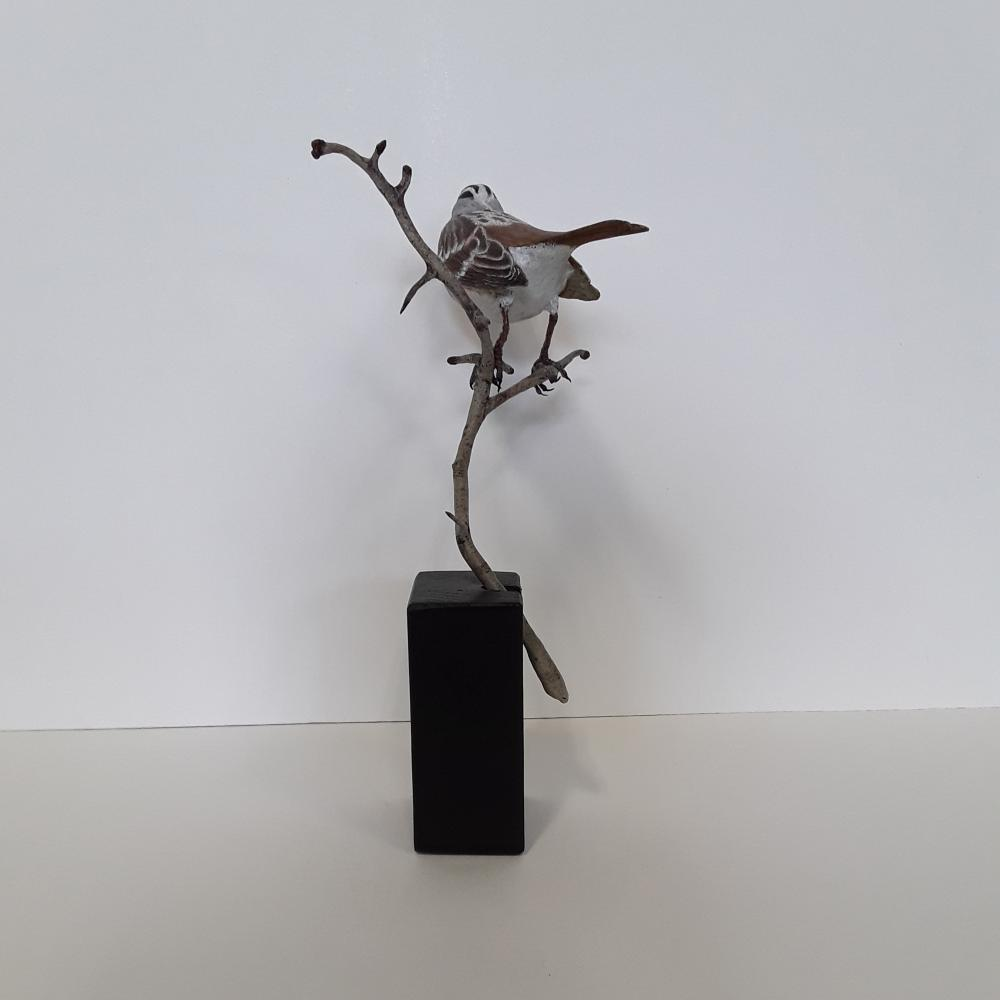 Tony Bendig's Little Song Sparrow Carving
