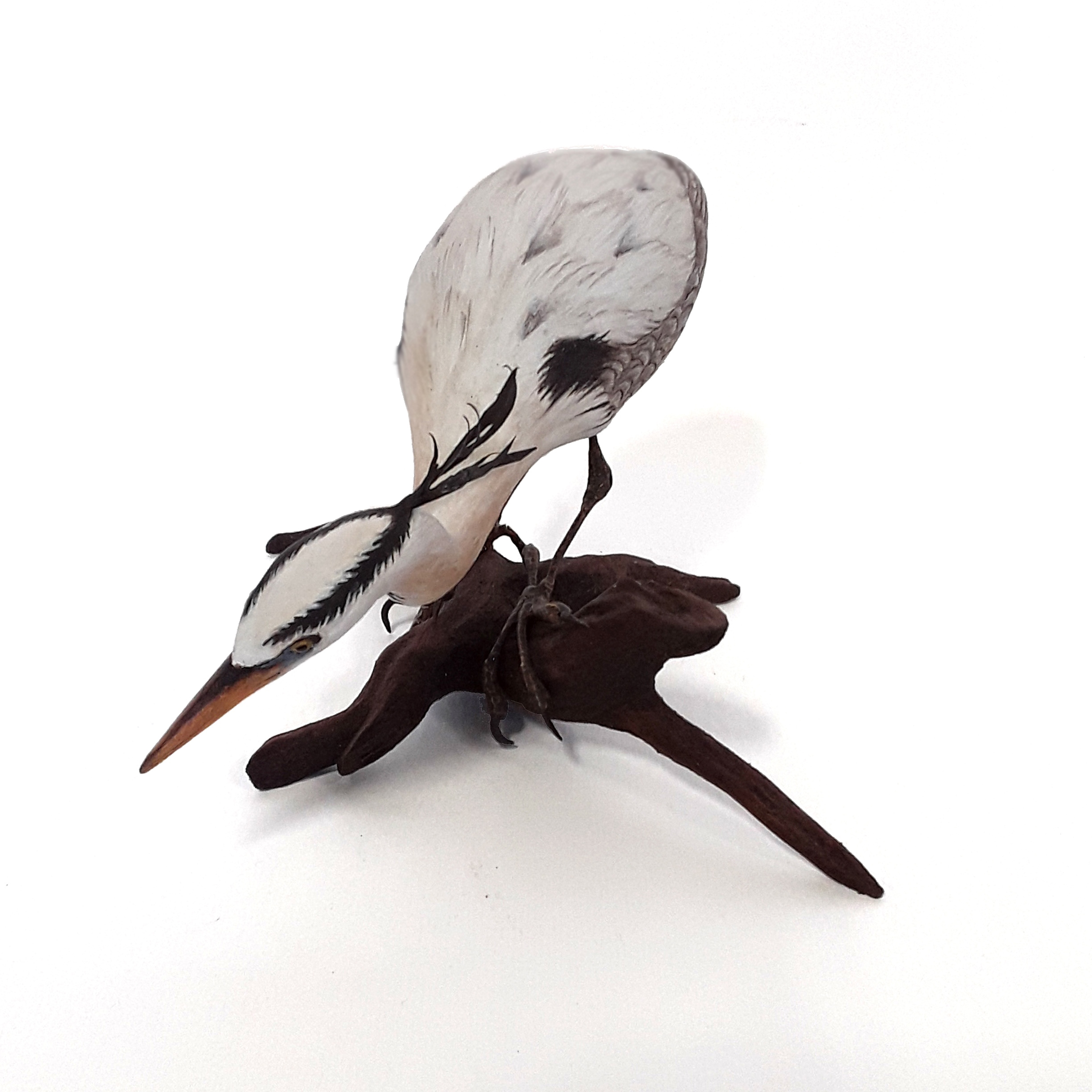 Tony Bendig's Small Herron Carving
