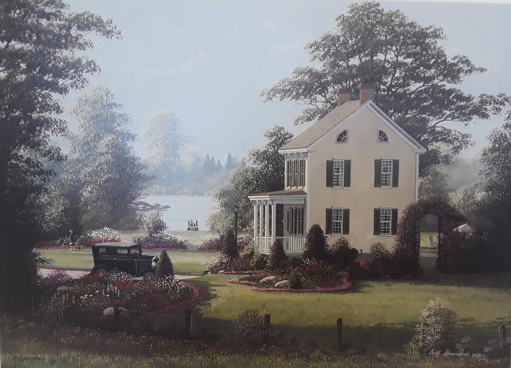 "Bill Saunders' ""Granny Hope's Gardens"" Limited Edition Print"