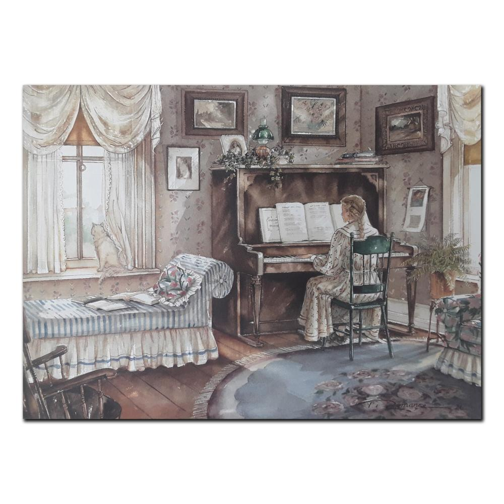 "Trisha Romance's ""The Music Room"" Limited Edition Print"