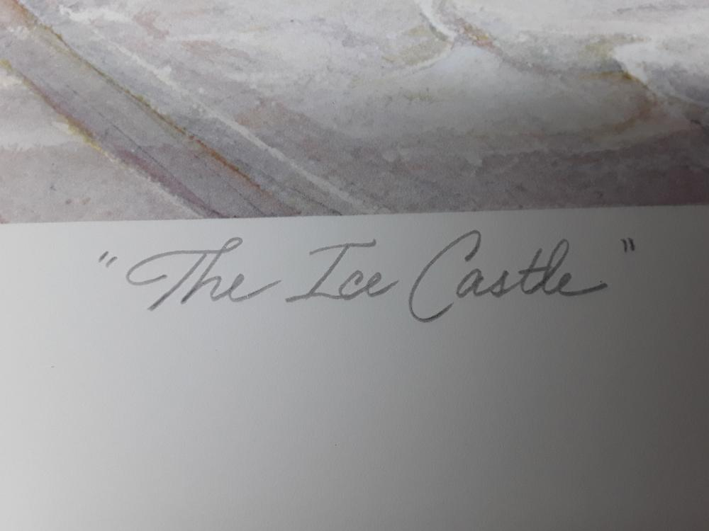 "Trisha Romance's ""The Ice Castle"" Limited Edition Print"