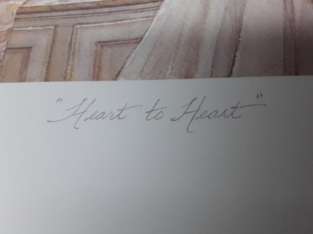"Trisha Romance's ""Heart To Heart"" Limited Edition Print"