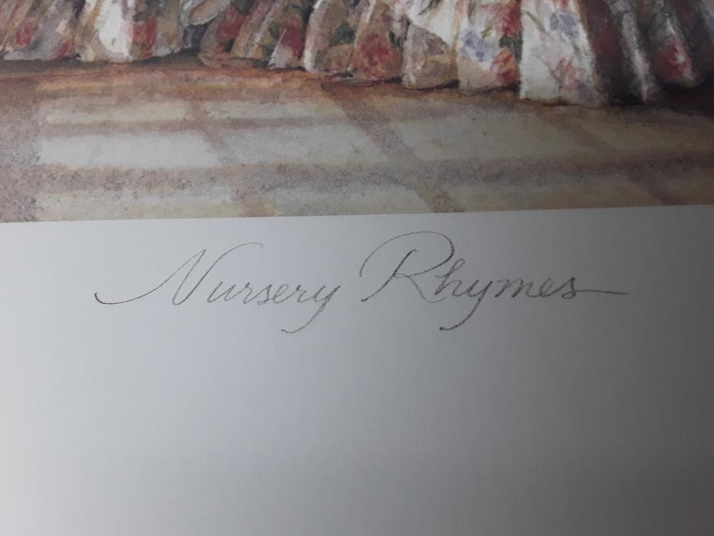 "Trisha Romance's ""Nursery Rhymes"" Limited Edition Print"