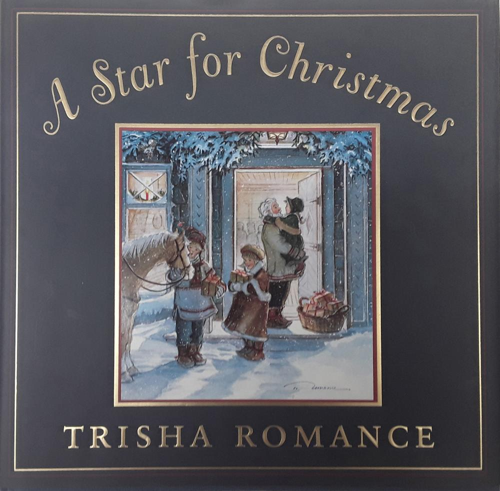 "Trisha Romance's ""A Star For Christmas"" Limited Edition Canvas and ""A Star For Christmas"" Hardcover Book"