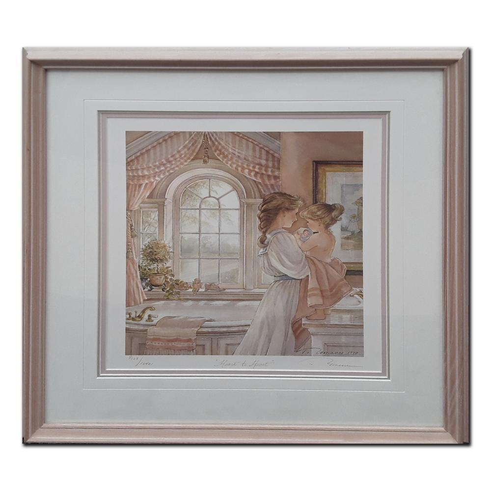 "Trisha Romance's ""Heart To Heart"" Limited Edition Framed Print"