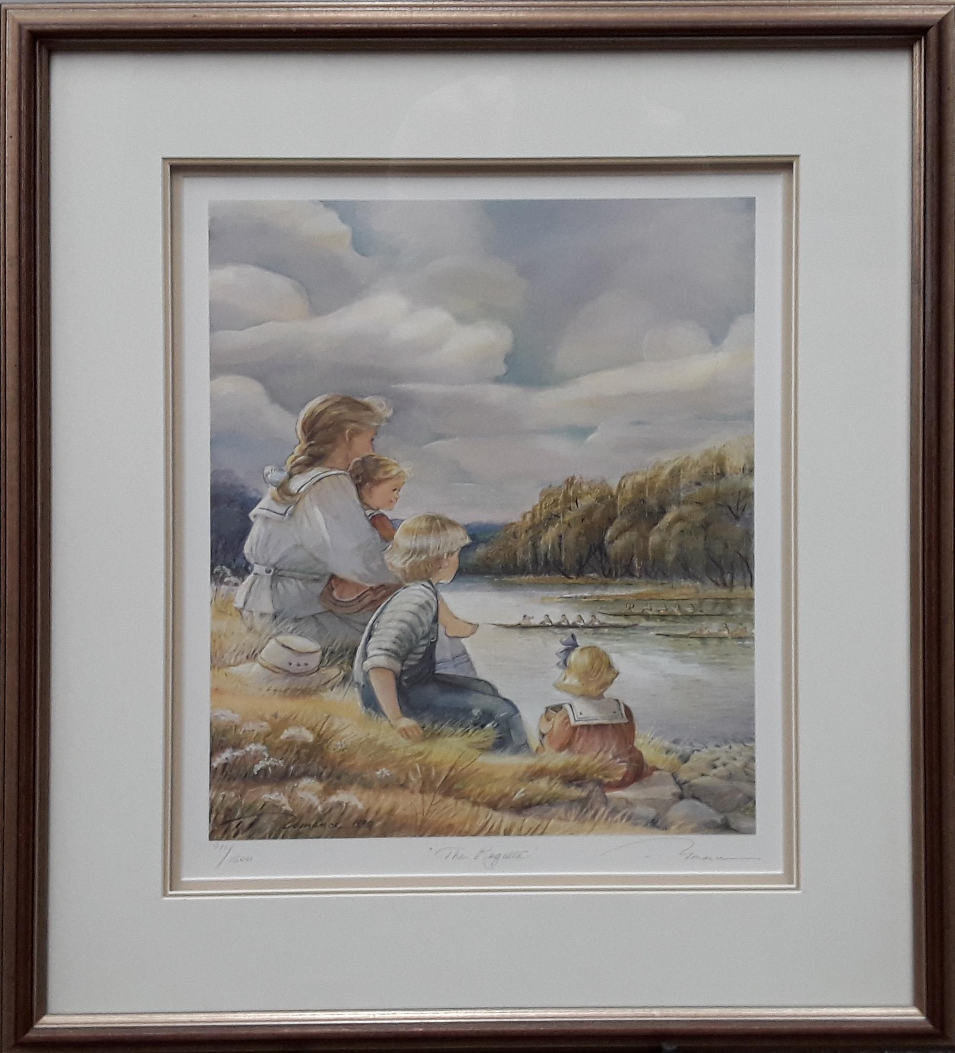 "Trisha Romance's ""The Regatta"" Limited Edition Framed Print"