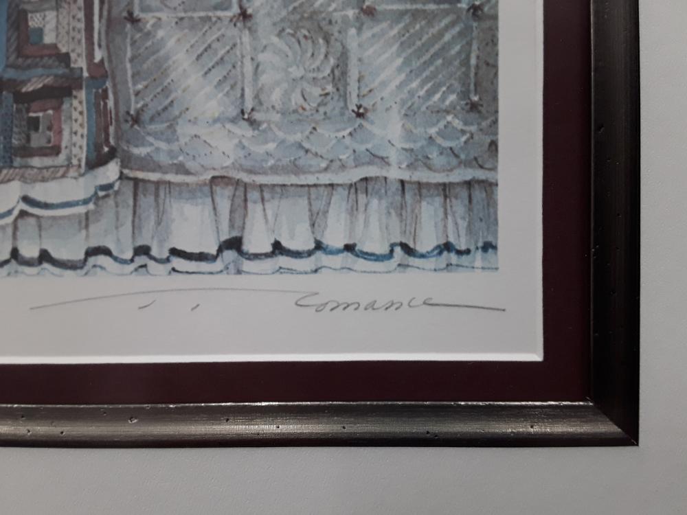 "Trisha Romance's ""Early Riser"" Limited Edition Framed Print"