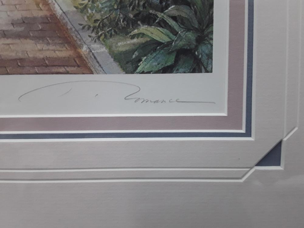 "Trisha Romance's ""The Pathway"" Limited Edition Framed Print"