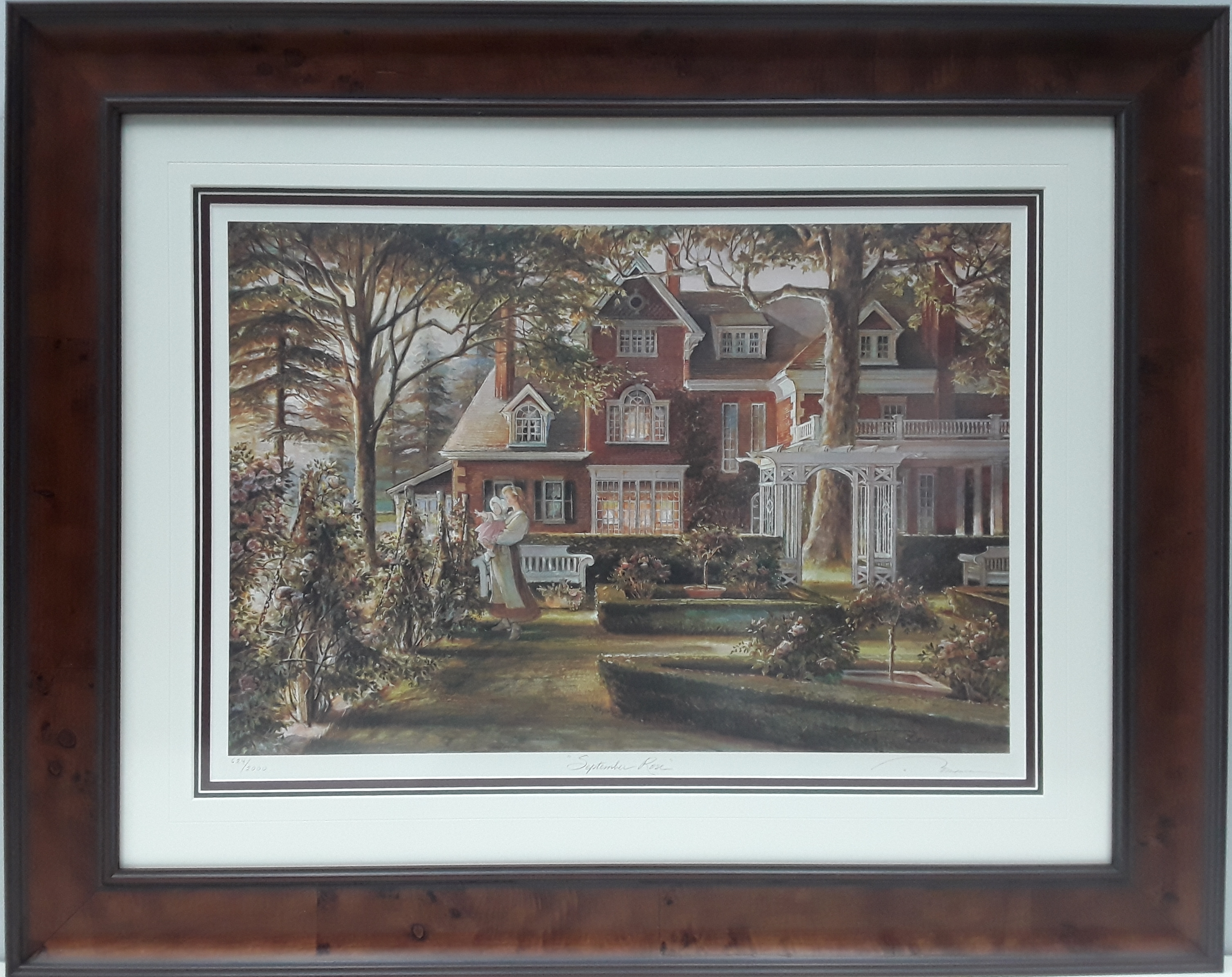 "Trisha Romance's ""September Rose"" Limited Edition Framed Print"