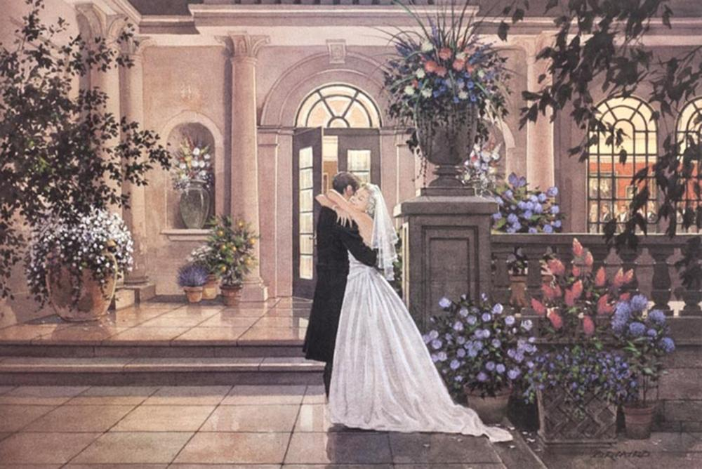 """Doug Laird's """"The Embrace"""" Limited Edition Print Signed and Numbered"""