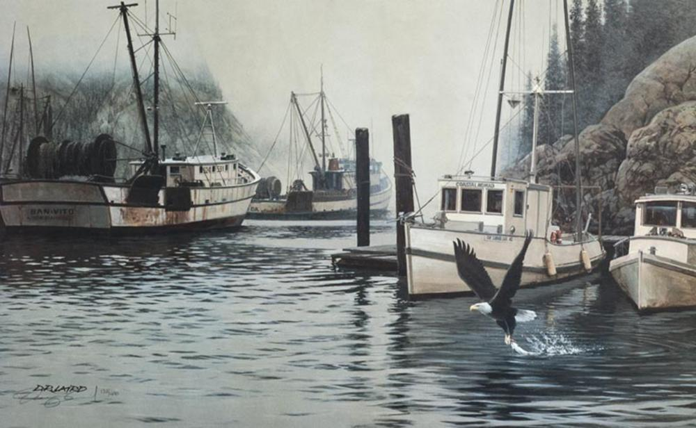"""Doug Laird's """"Coastal Nomad"""" Limited Edition Print Signed and Numbered"""
