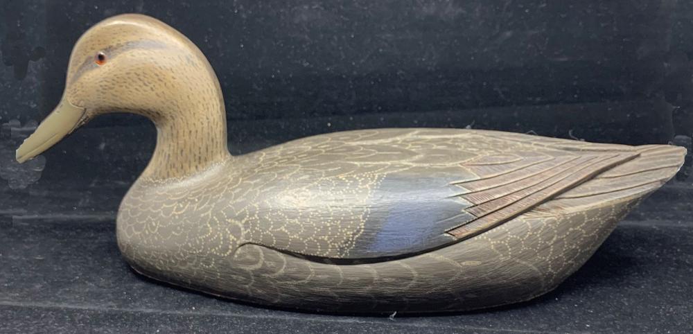 Frank Ryan Original Hand Carved Duck Decoy