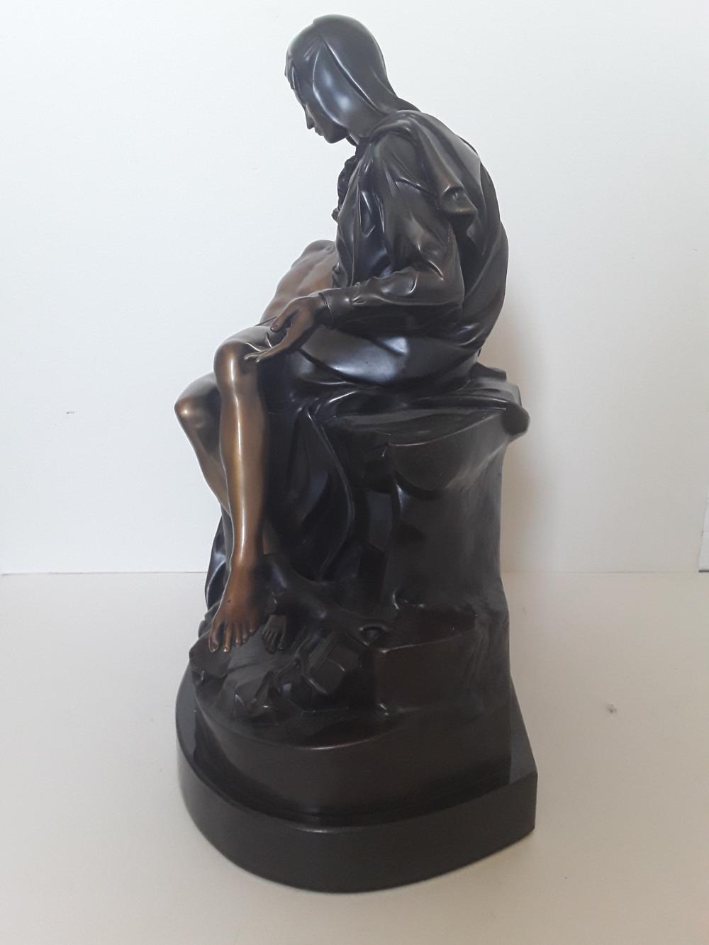 "Michelangelo's ""Pieta"" Limited Edition Bronze Sculpture"