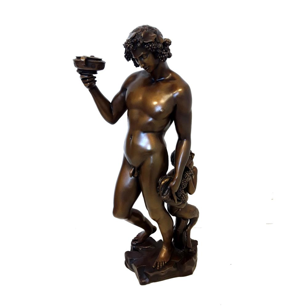 "Michelangelo's ""Bauchus"" Limited Edition Bronze Sculpture"