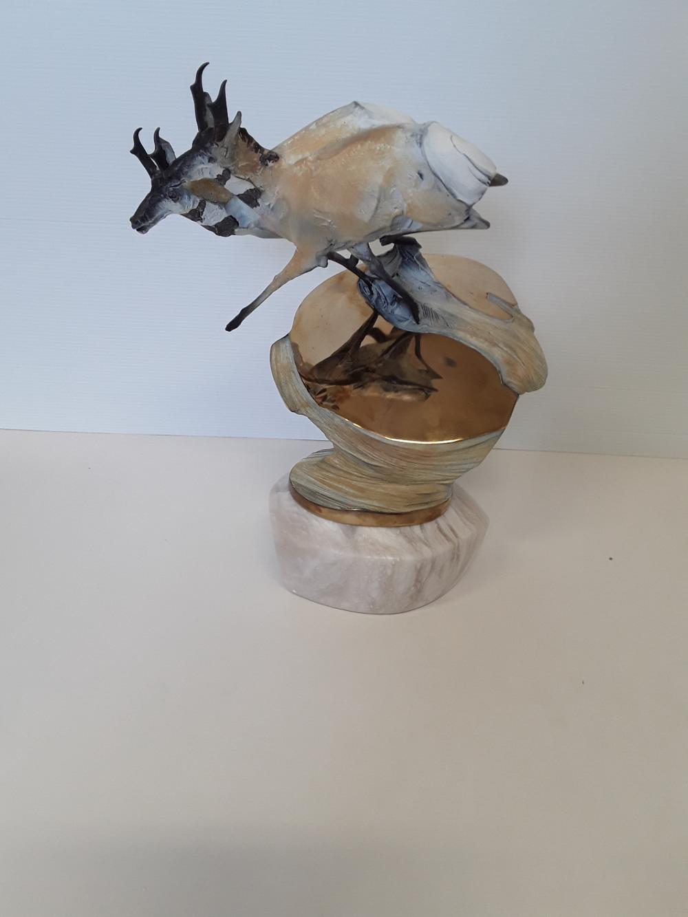 "Chapel's ""High Plains Longhorn"" Limited Edition Bronze Sculpture"