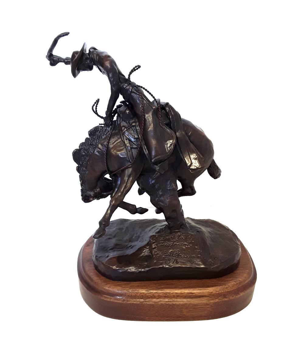 "Bill Godlonton's ""The Short Latigo Treatment"" Limited Edition Bronze Sculpture"