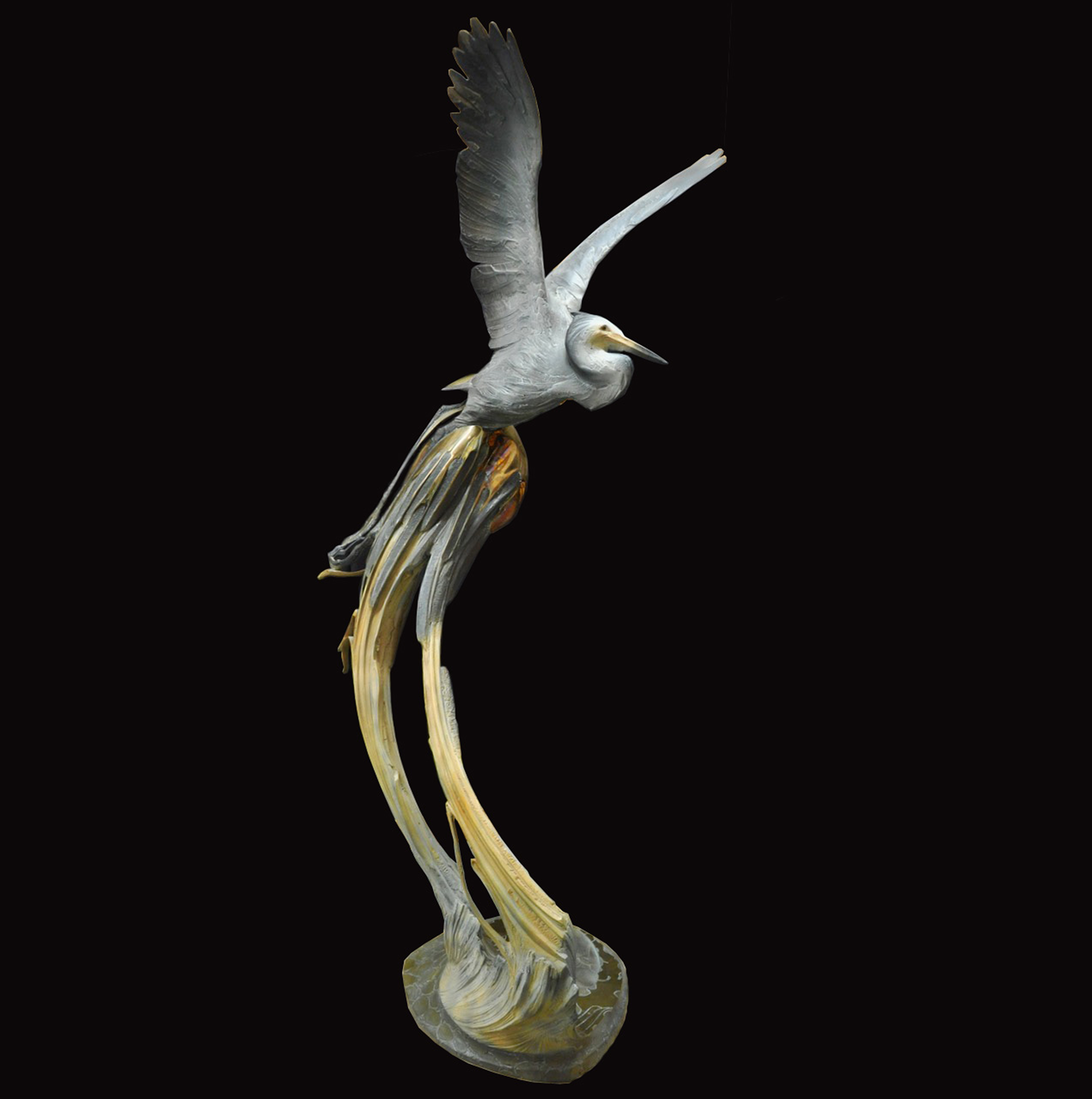 """Ron Chapel's """"Cathedral Springs"""" Limited Edition Bronze Sculpture"""