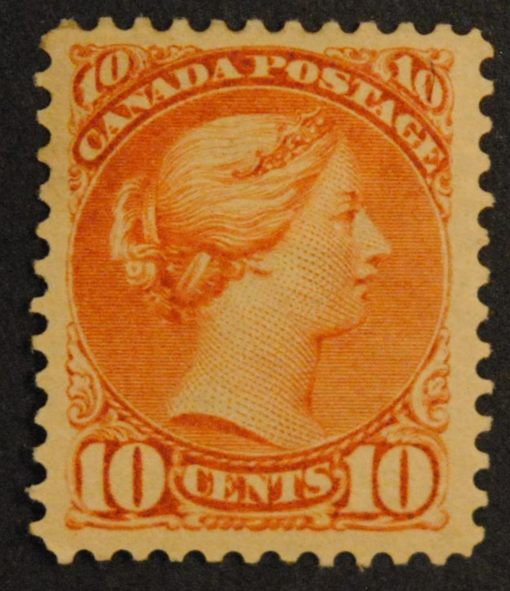 Canada 1897 10c S/C #45a VF MH