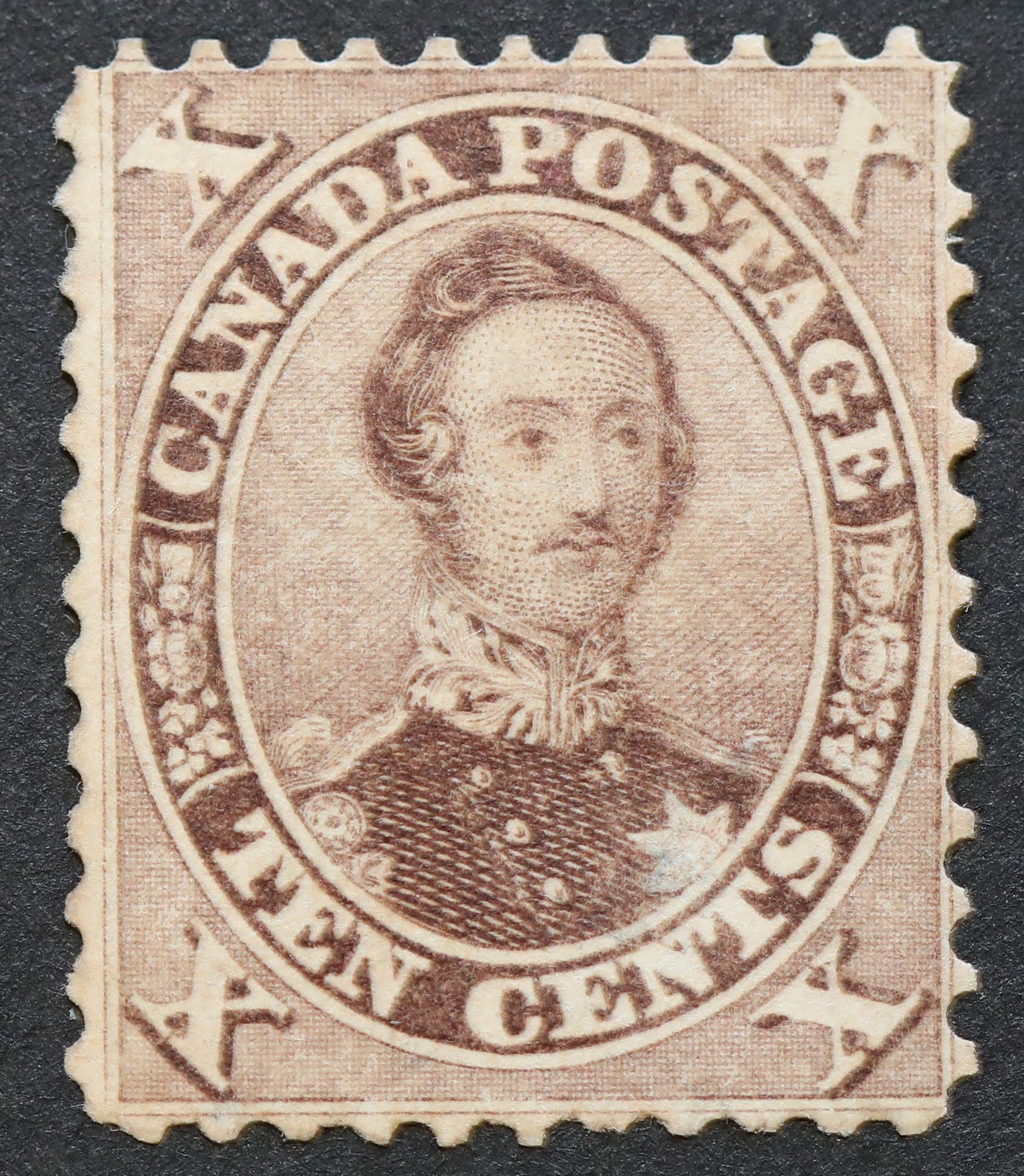 Canada 10c S/C #17 MLH OG