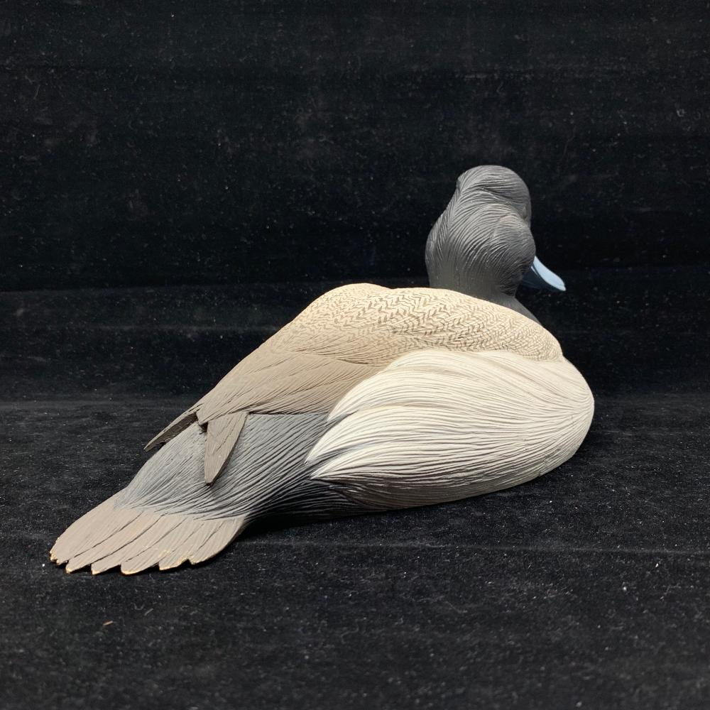 "S. Hill's ""Lesser Scaup Drake"" Duck Decoy"