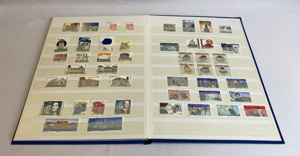 Sweden 1993-99 Stamp Collection