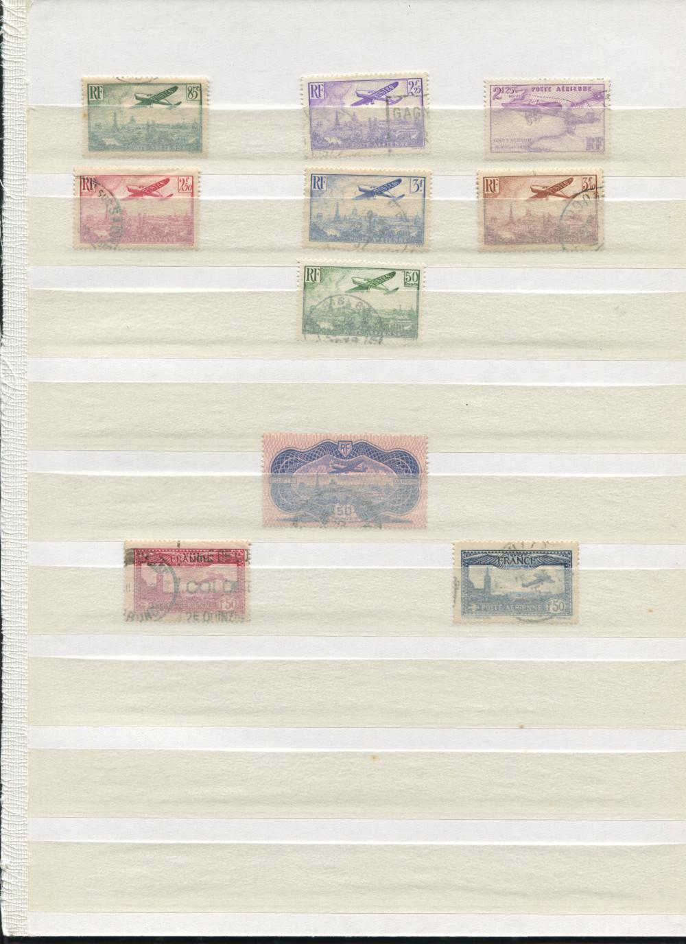 France Air Post Stamp Collection 2