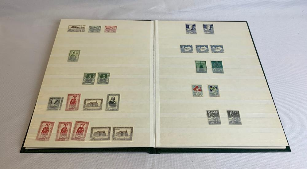 Iceland Mint Stamp Collection