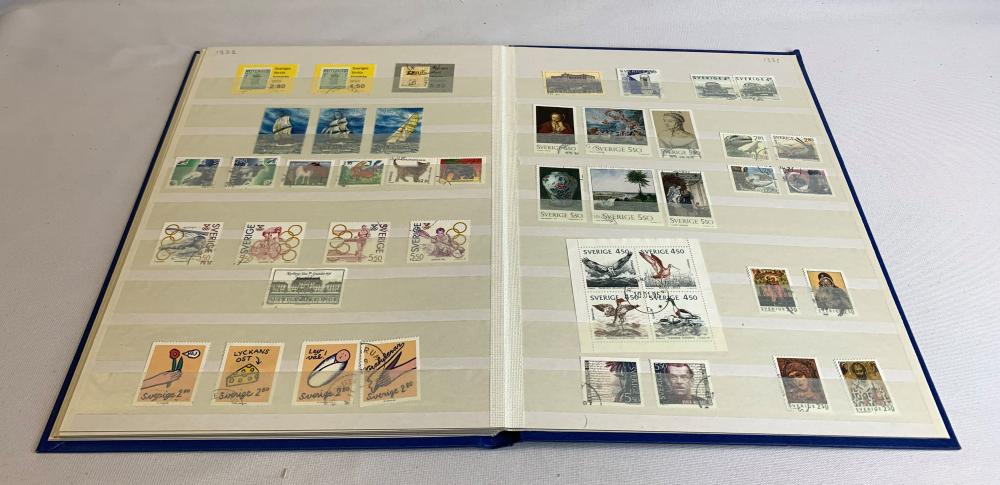 Sweden 1987-93 Stamp Collection