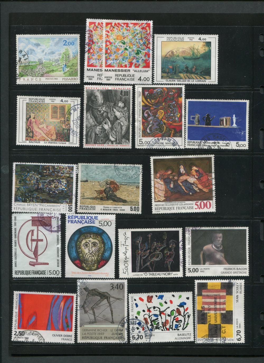 France Stamp Collection 4