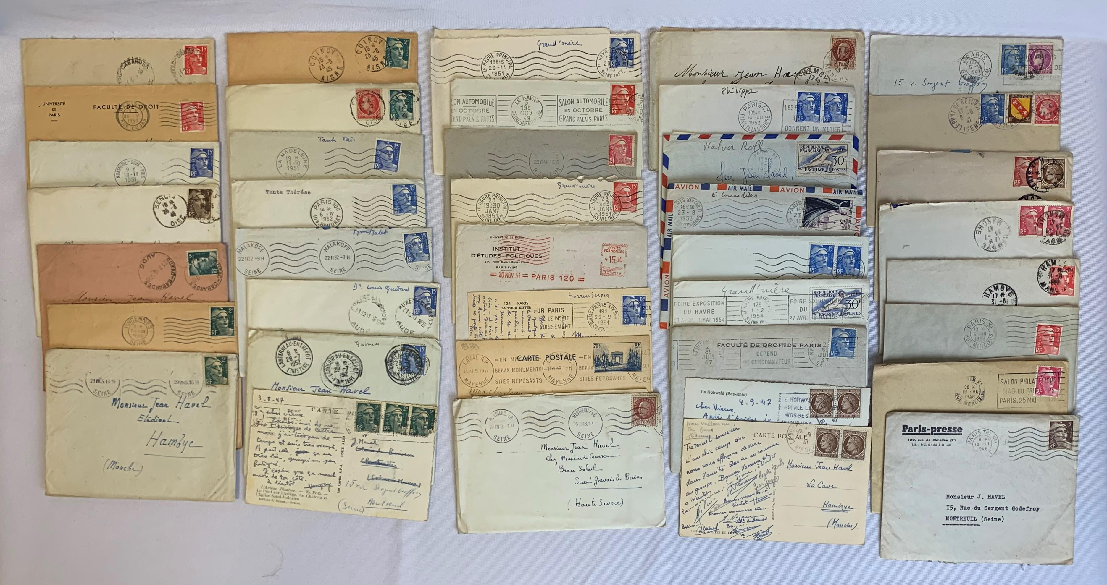 France Stamp Covers and Cards Collection 1