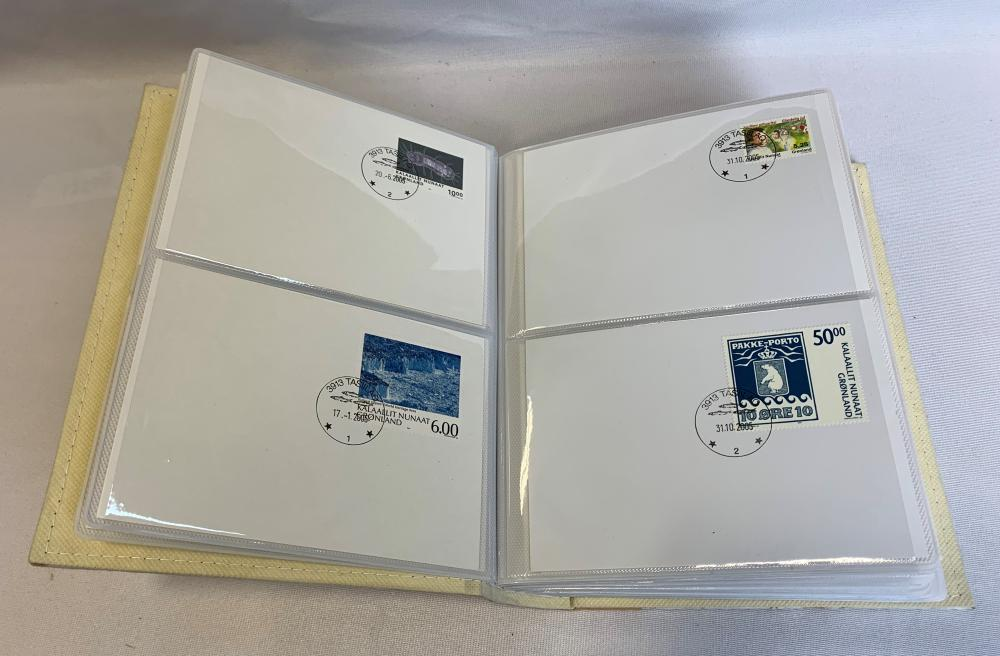 Greenland Precancelled Stamp Cover Collection