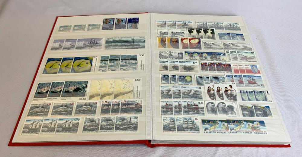 Greenland MNH Stamp Collection