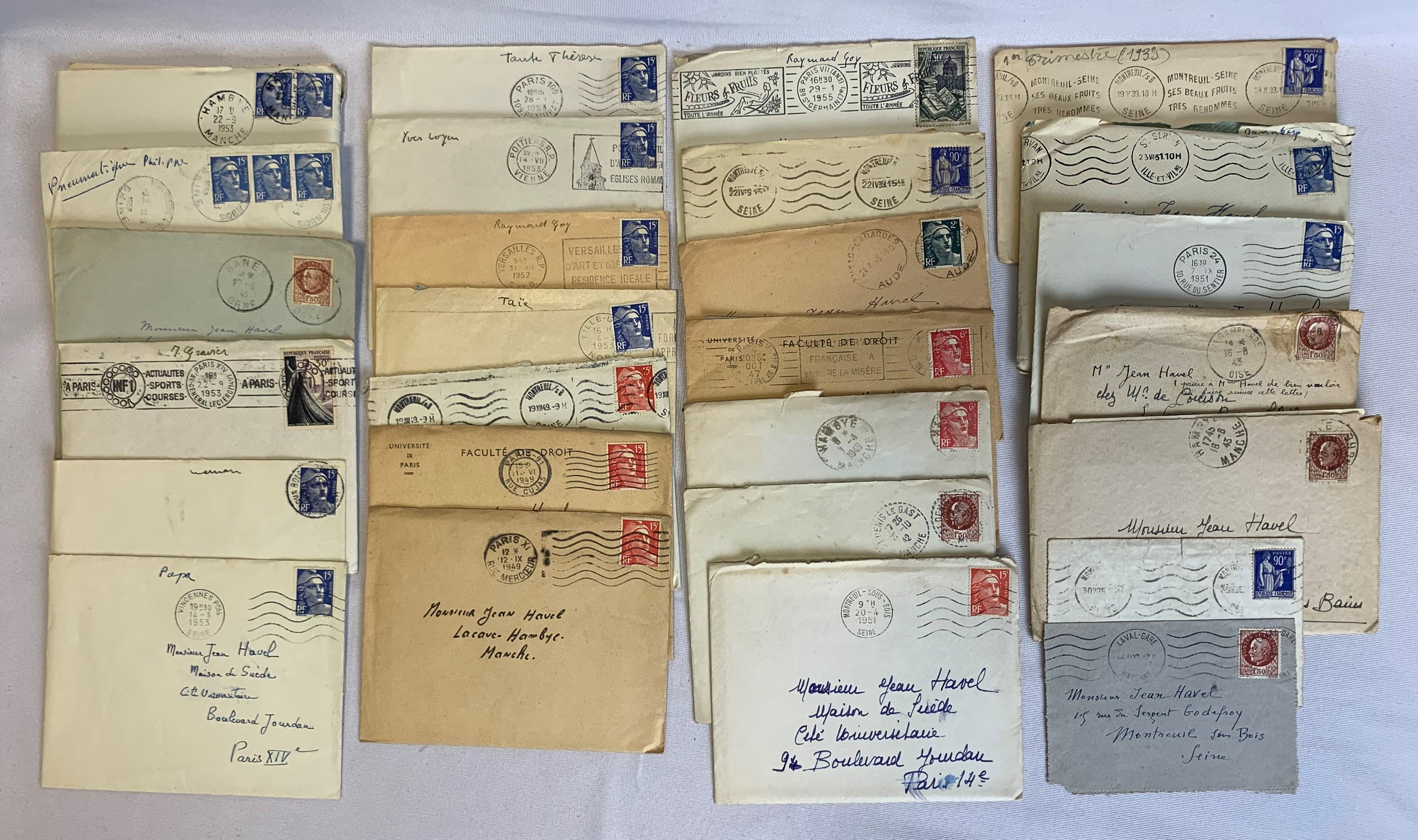 France Stamp Covers and Cards Collection 3