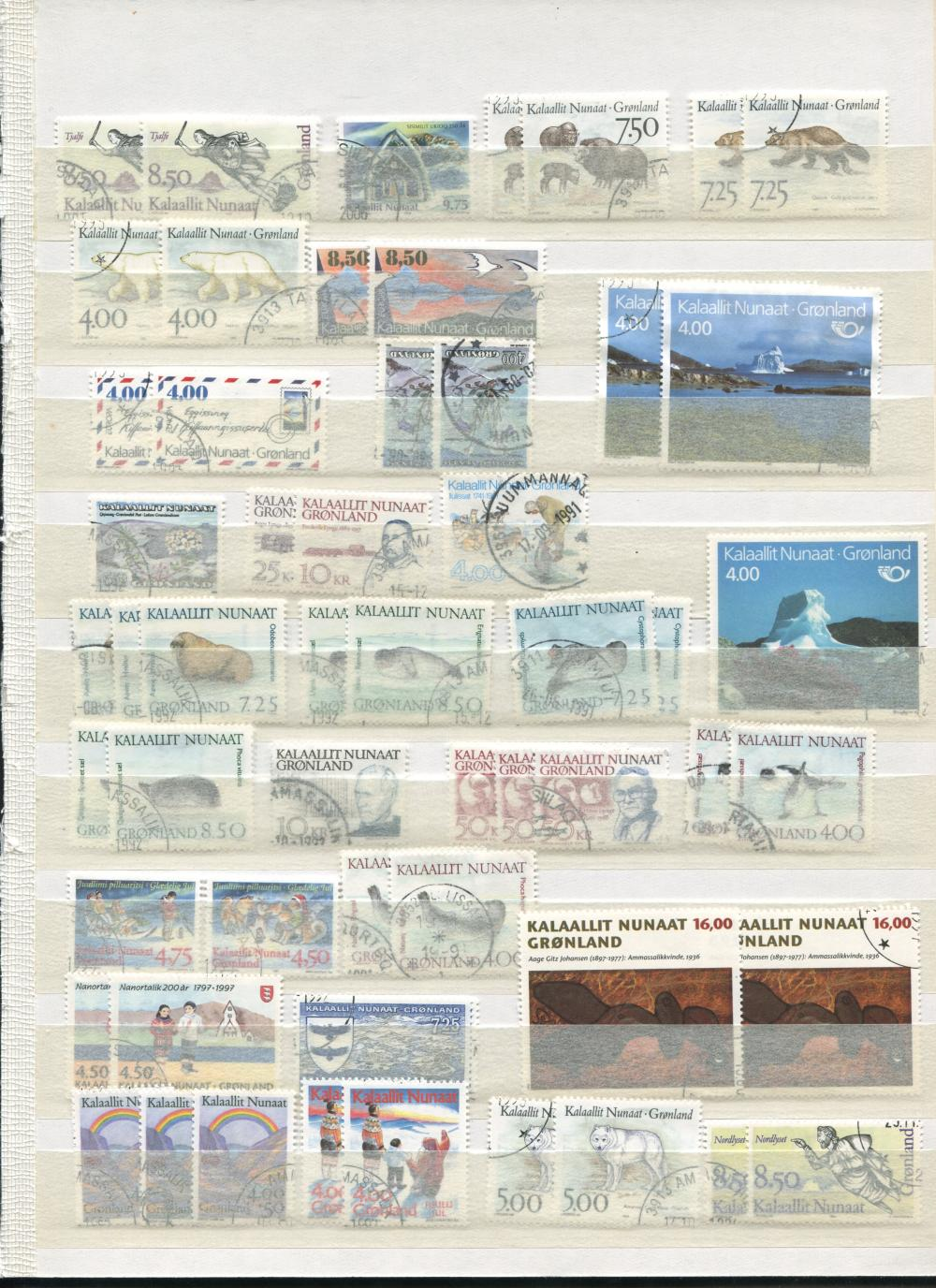 Greenland Stamp Collection