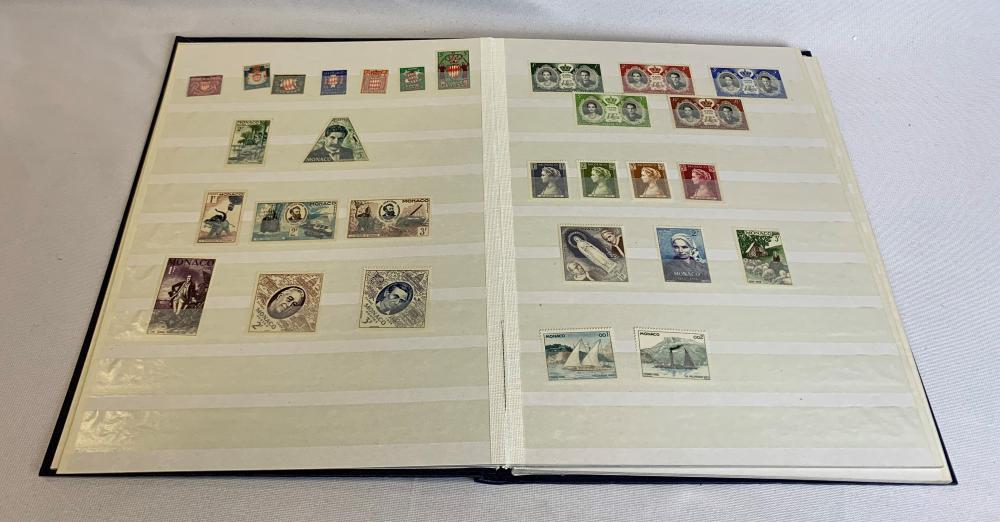 Monaco 1891- Stamp Collection