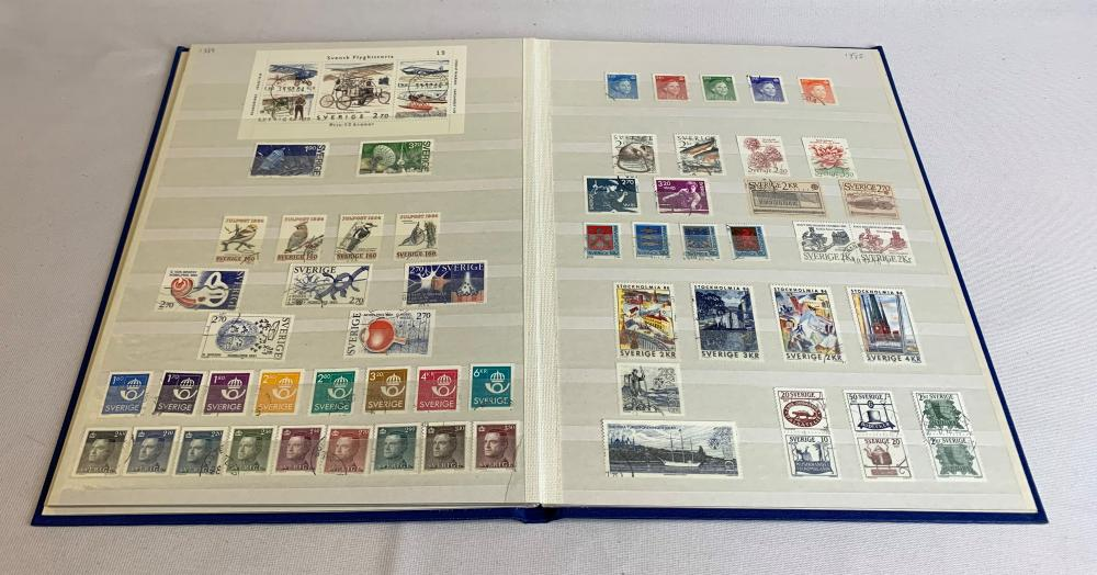 Sweden 1969-87 Stamp Collection