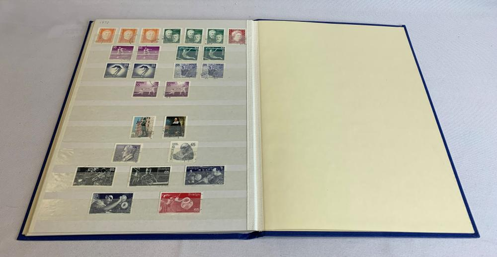 Sweden 1958-72 Stamp Collection