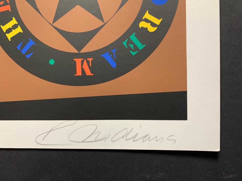 "Robert Indiana's ""The Tilt"" Limited Edition Print"