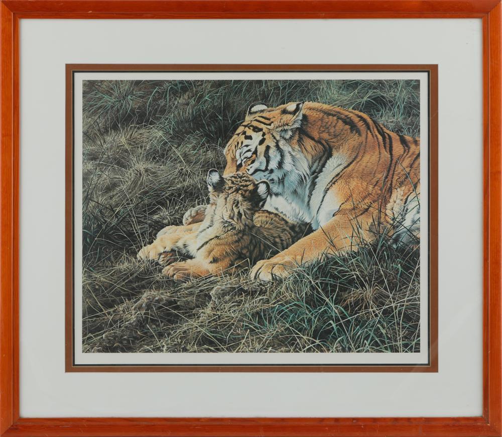 """Alan Hunt's """"Tender Moment"""" Open Edition Framed Print"""