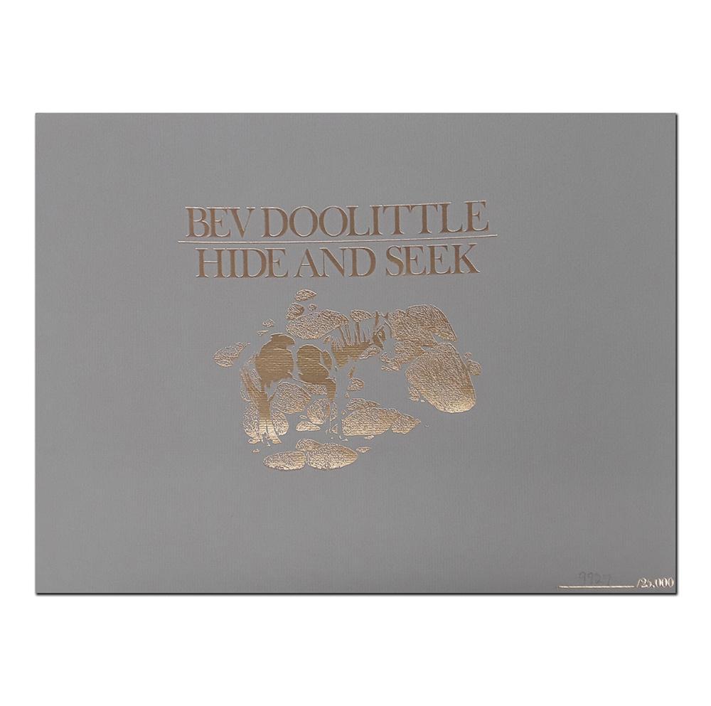 "Bev Doolittle's ""Hide and Seek Suite"" Limited Edition Prints"