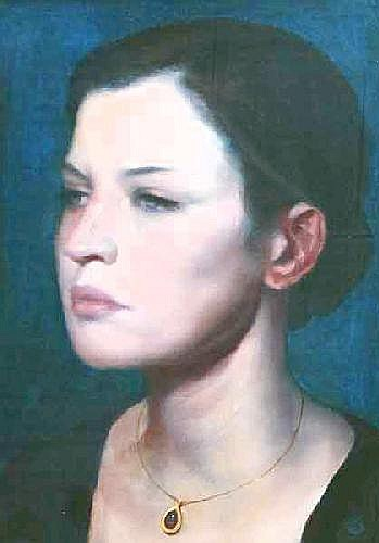 Ken Hamilton (20th/21st Century) oil on board Girl